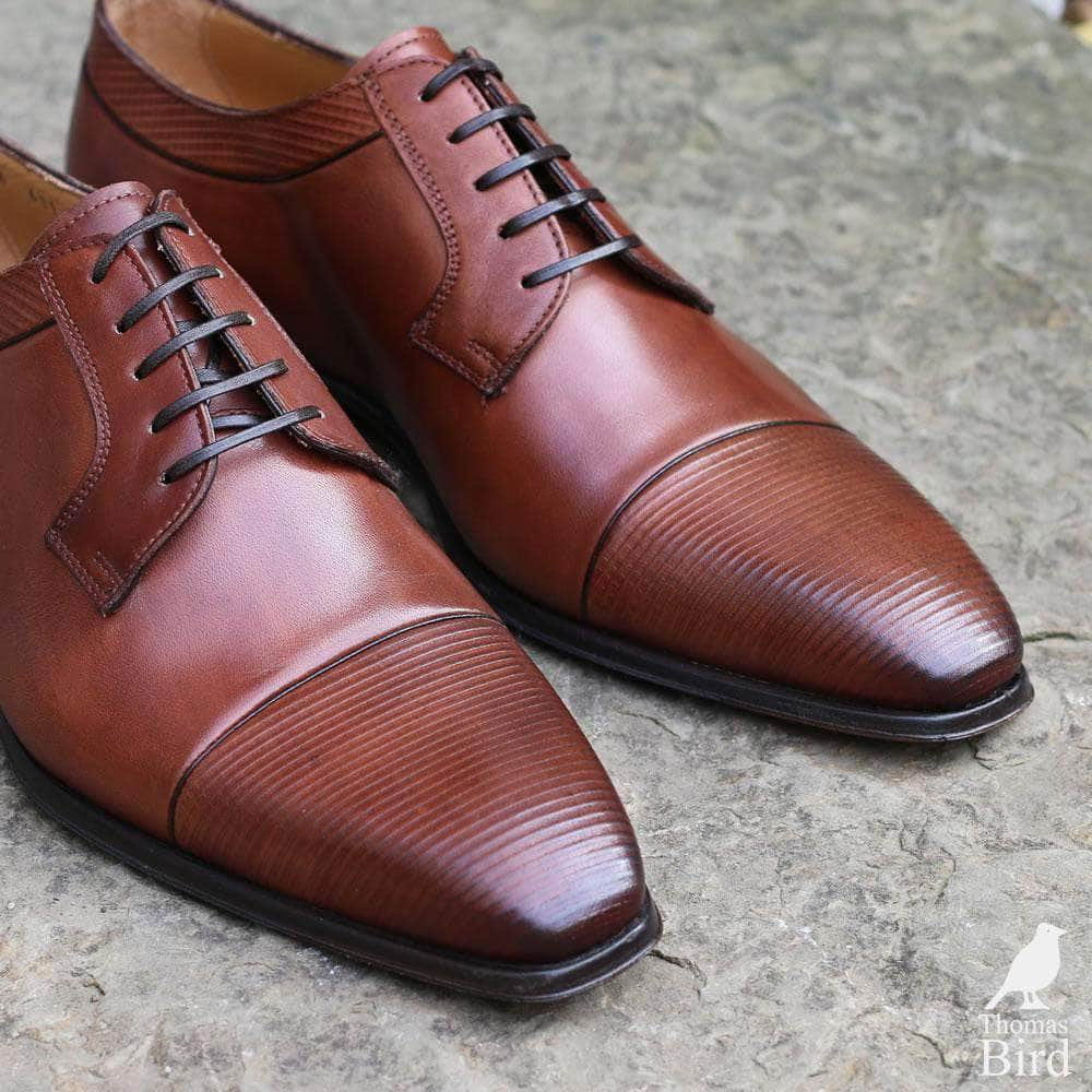 Richmond Cap Toe Derby - Tan