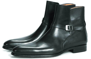 Wholecut shoes - Jackson Jodhpur Zip Boot - Black