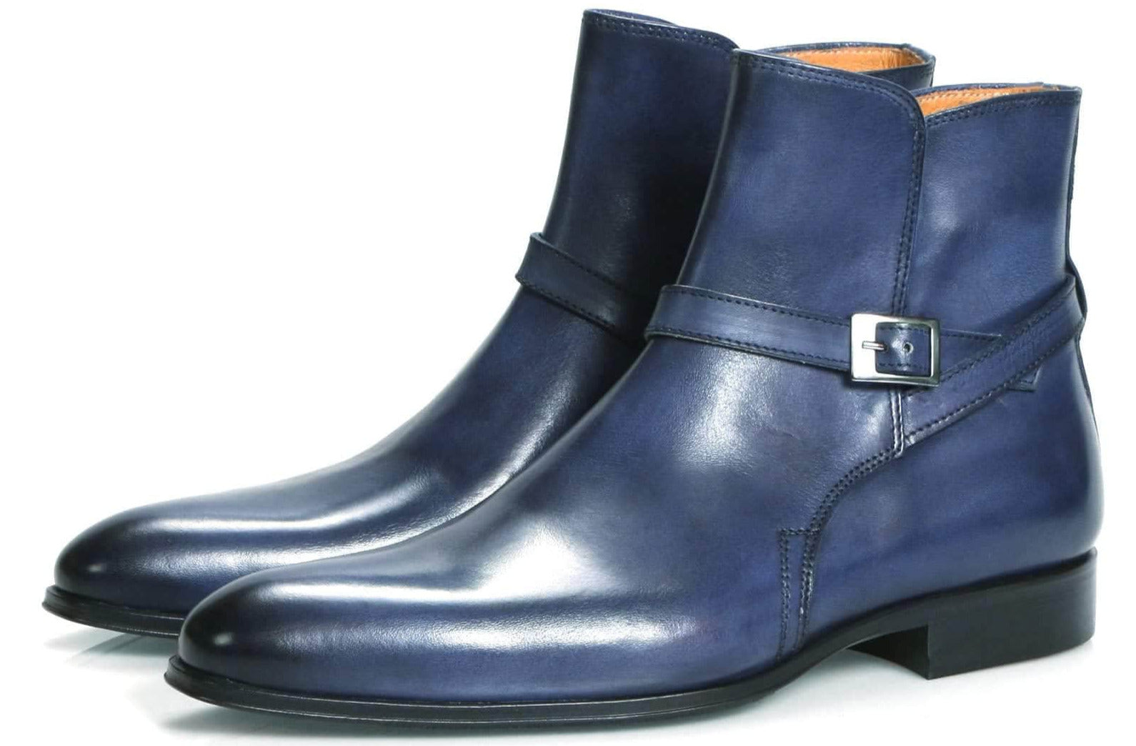 Wholecut shoes - Jackson Jodhpur Zip Boot - Blue