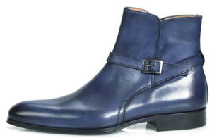 Jackson Jodhpur Zip Boot - Blue