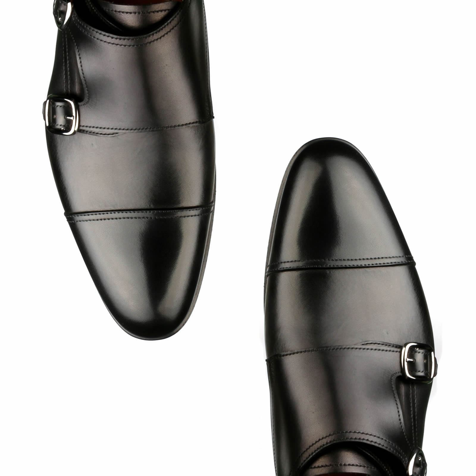 Bourne Monk Strap - Black