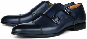 Bourne Monk Strap - Blue