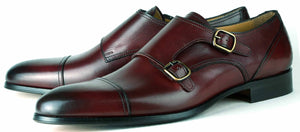 Bourne Monk Strap RB - Oxblood