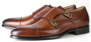 Bourne Monk Strap SB - Tan