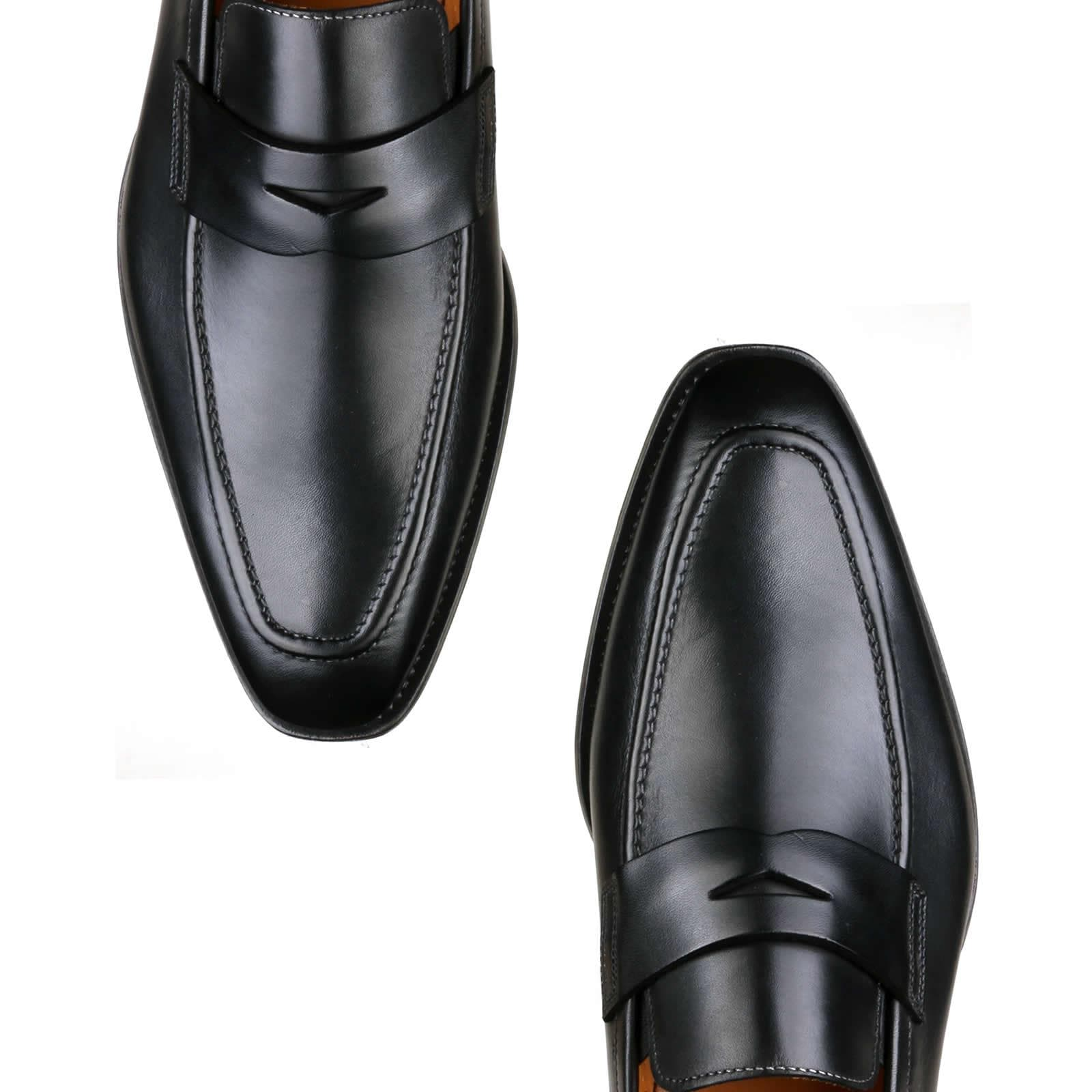 Hampton Penny Loafer - Black