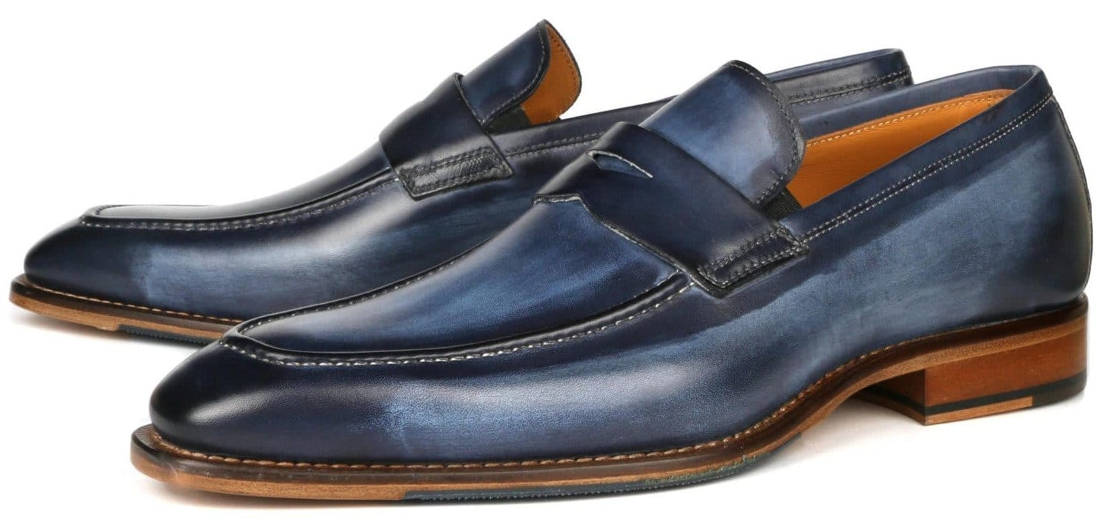Hampton Penny Loafer - Blue