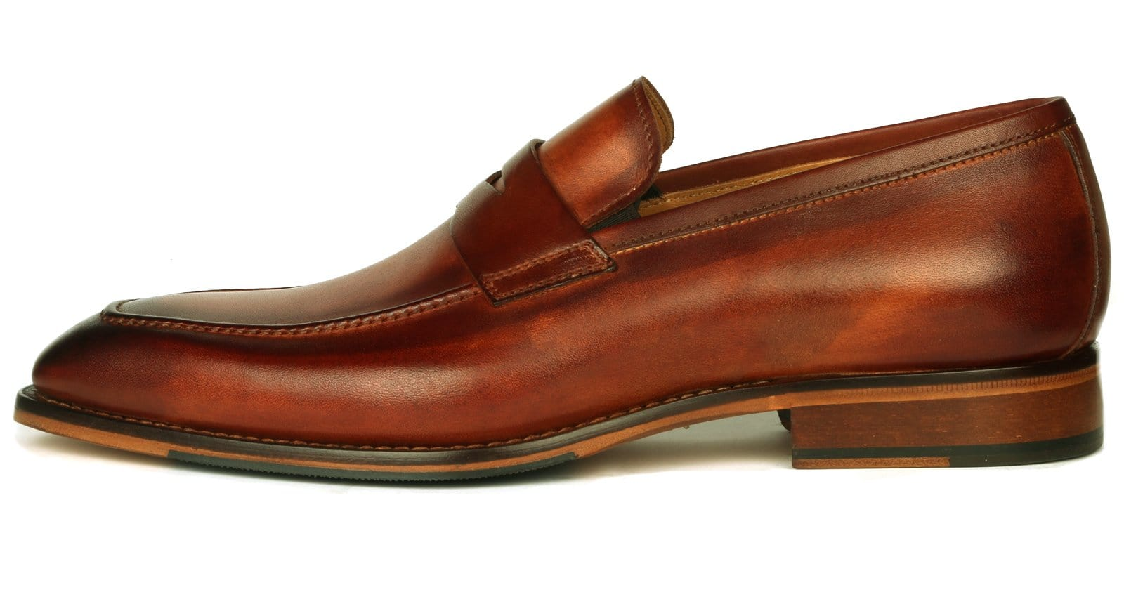 Hampton Penny Loafer - Chestnut