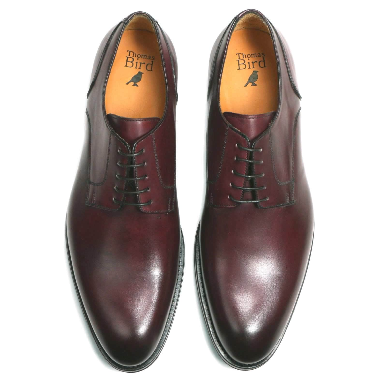 Wholecut shoes - Weymouth Derby - Oxblood