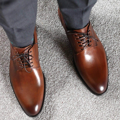 Wholecut shoes - Weymouth Derby - Brown