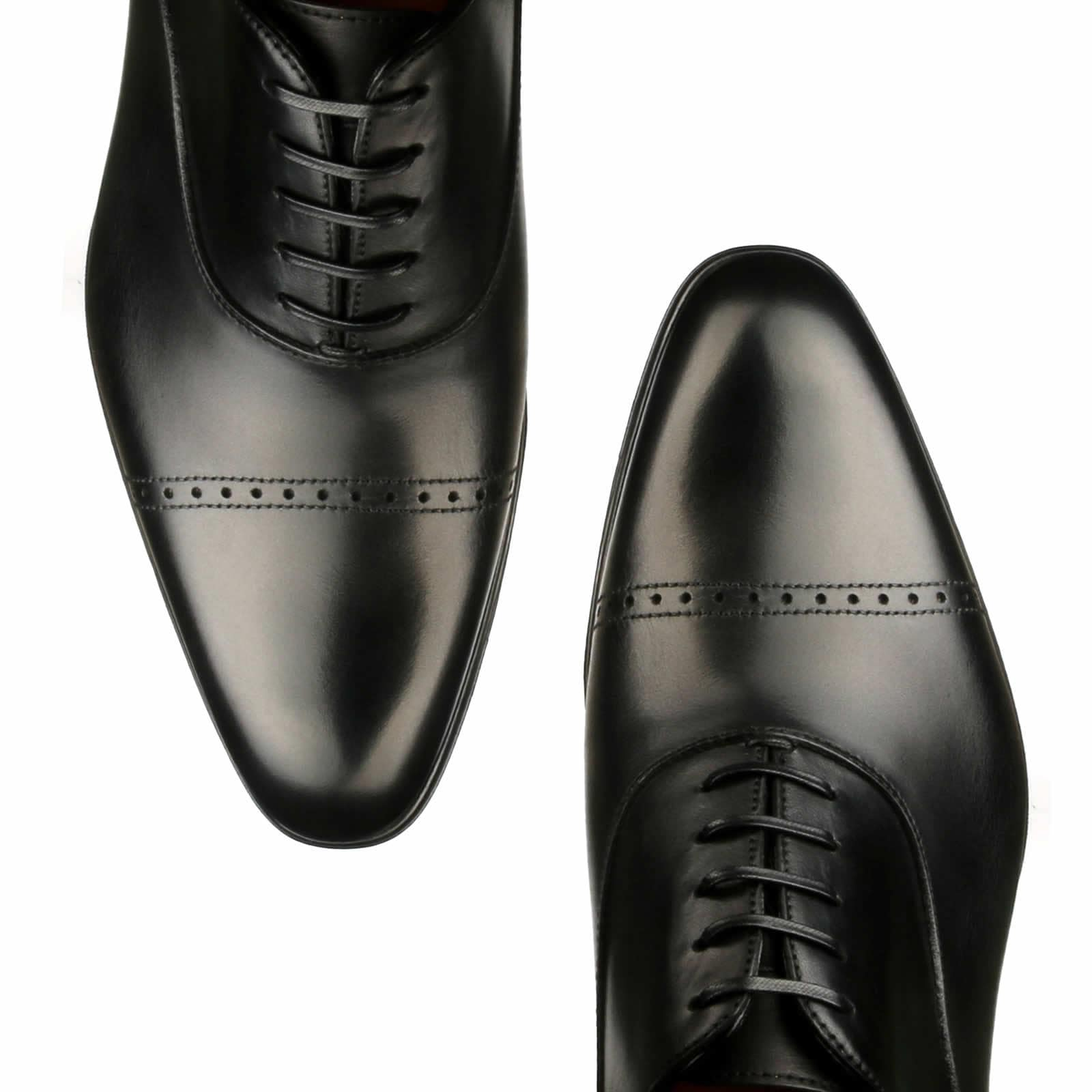 Harrow Cap Toe Oxford - Black