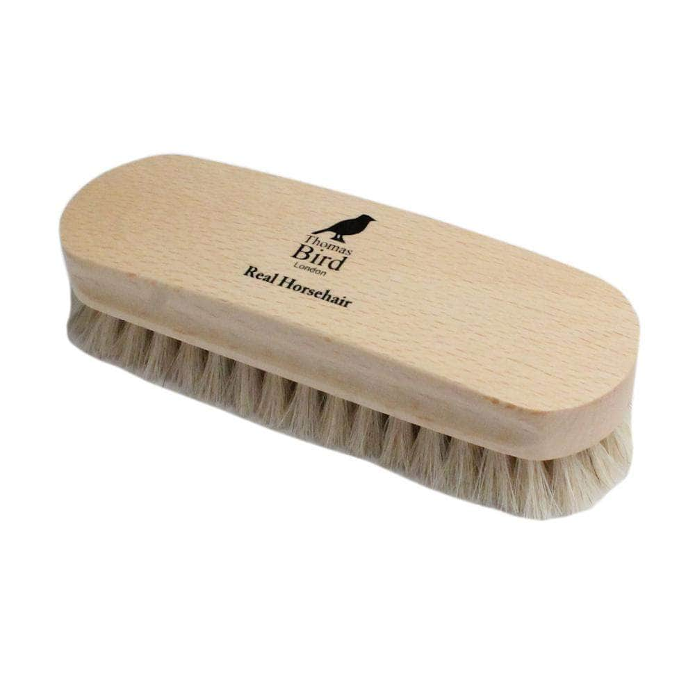 Shoe Brush Horsehair Beechwood