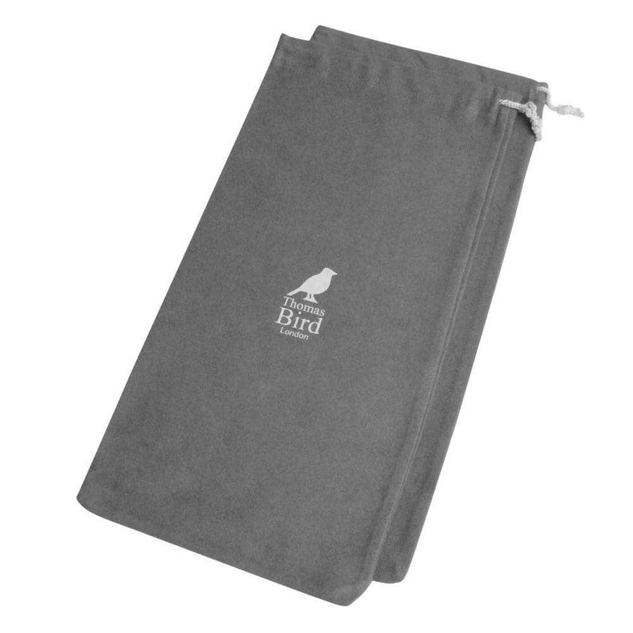 - Luxury Grey Drawstring Bags