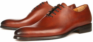 Benson Wholecut Oxford Chestnut