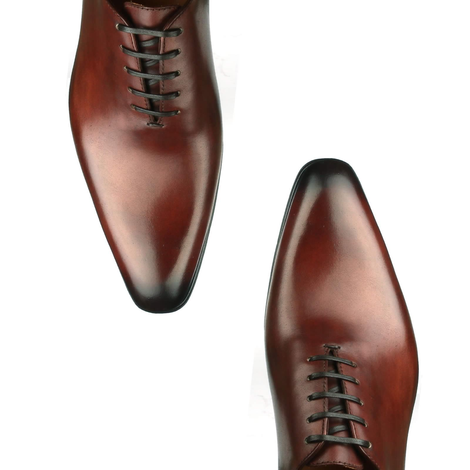 Benson Wholecut Oxford - Conker Brown