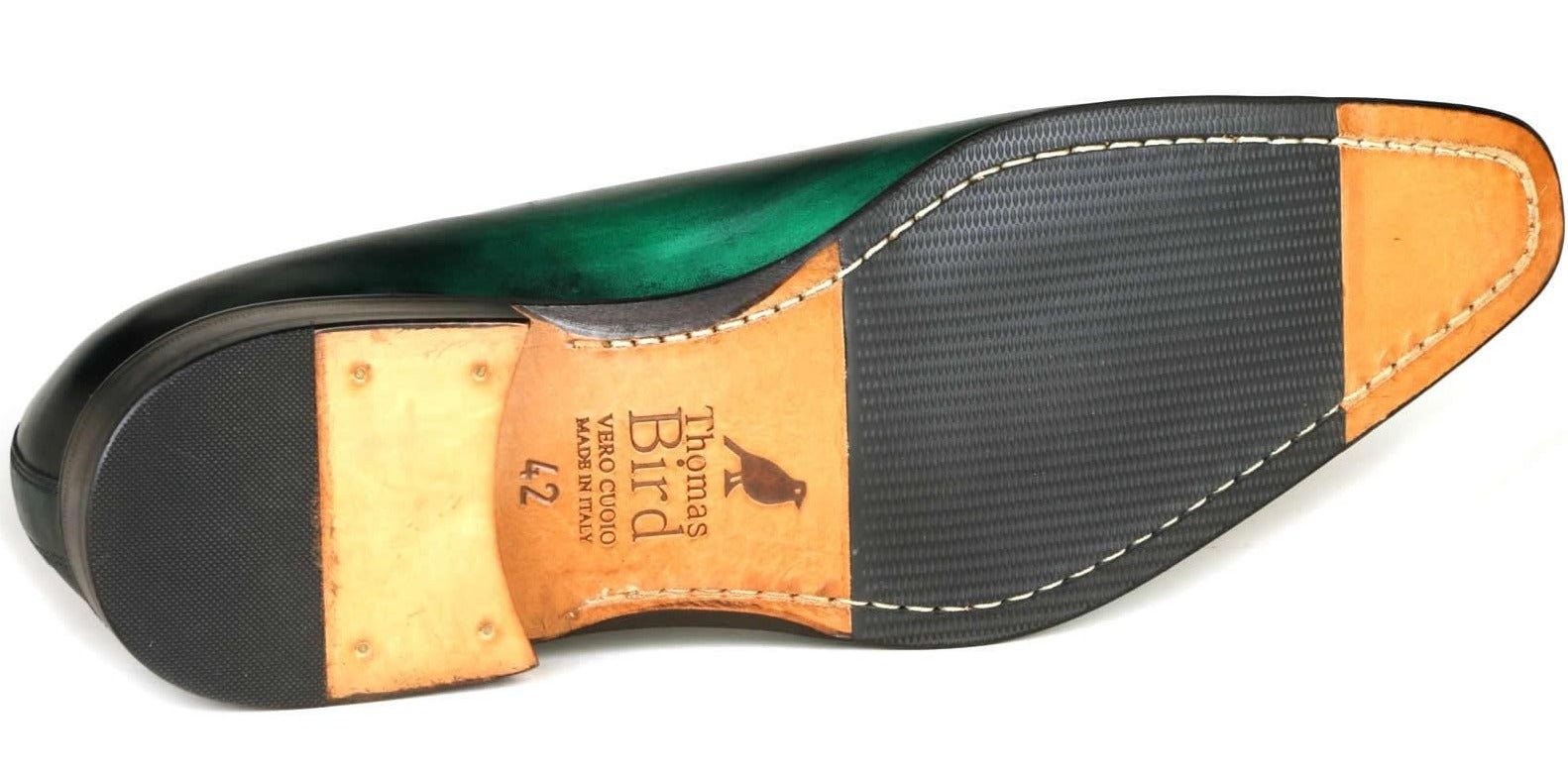 Custom Patina Benson Wholecut Green