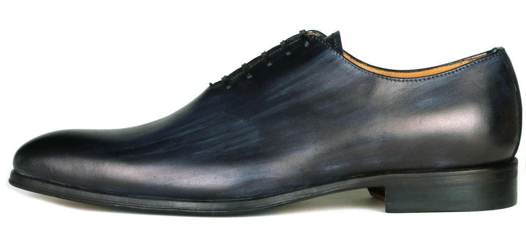 Benson Wholecut Oxford Custom Patina Grey