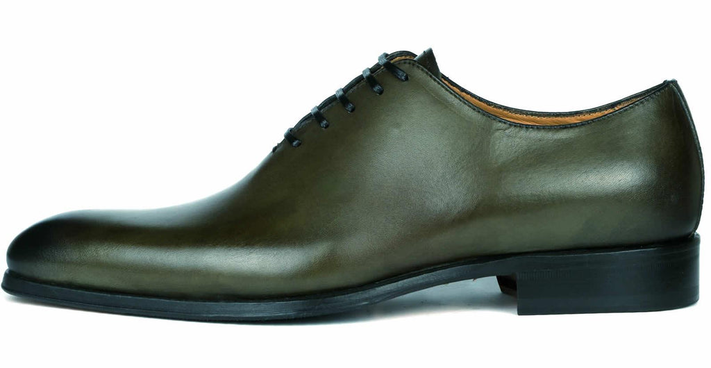 Benson Wholecut Oxford Olive Green