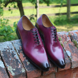 Benson Wholecut Oxford - Plum