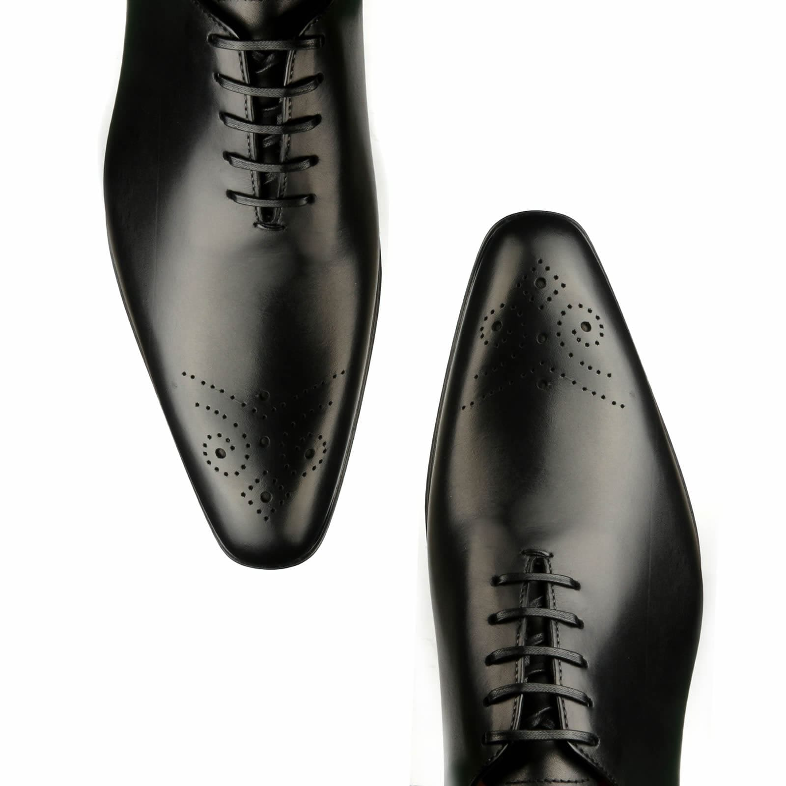Ellington Wholecut Brogue Black