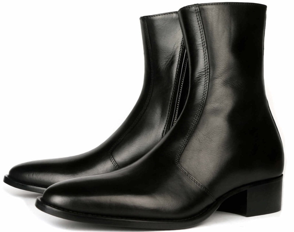 Memphis Zip Boot - Black