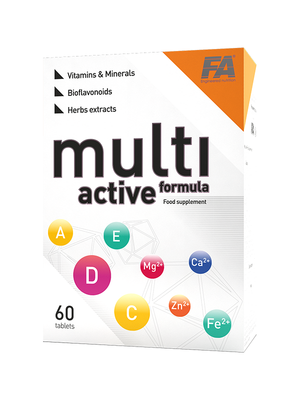 Health Line Multi Active Formula 60 tabs