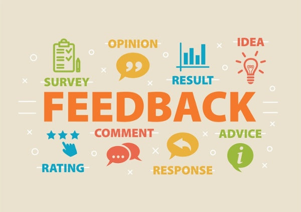What Customer Feedback can you see?