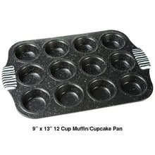 Load image into Gallery viewer, Living Stone Bakeware Muffin/Cupcake Pan