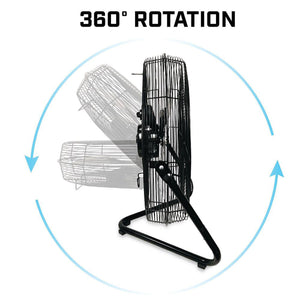 EdenPURE 360 Super Fan 360 degree roatation