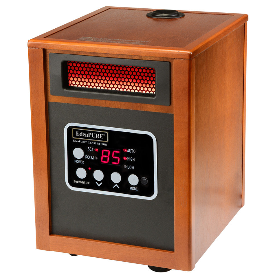 EdenPURE® GEN30 Hybrid Infrared Heater with Humidifier - Edenpure.com