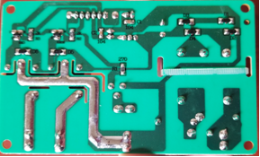 PC Control Board - Rear (KN003) - Edenpure.com