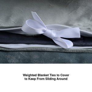 EdenPURE Weighted Calming Blanket Tie