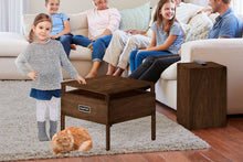 Load image into Gallery viewer, EdenPURE® Portable 360 Super Cooler™ with Amish Wood Cabinet