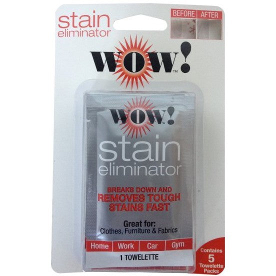 WOW! Stain Eliminator Towelette 20 Pack
