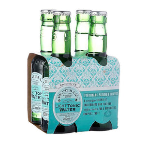 Fentimans Light Tonic Four Pack