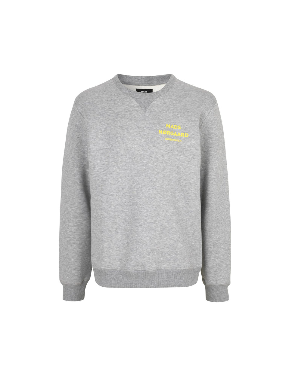 Logo Sweat Crewneck, Grey Melange
