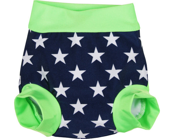 ZUNBLOCK UV-Babyswim Blebuks Navy/Lime