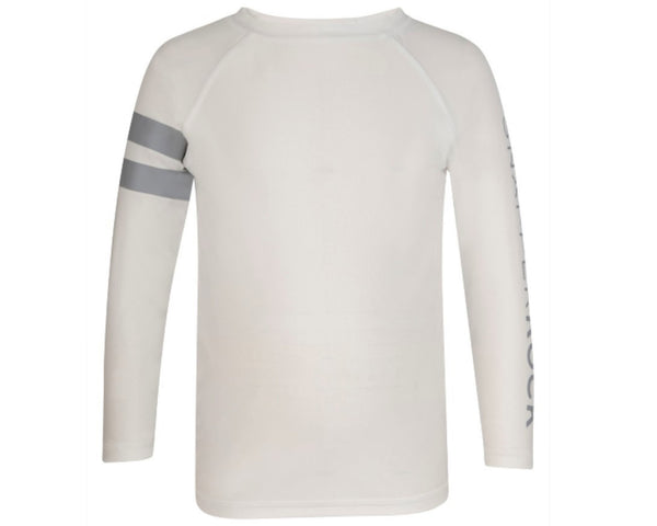 SnapperRock White Long Sleeve T-shirt