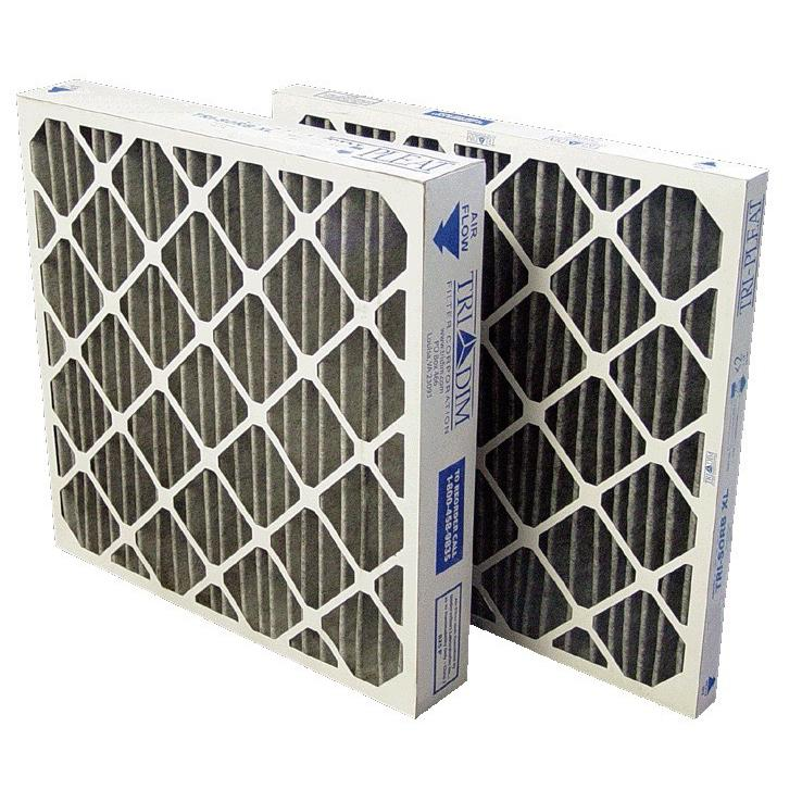 PLEATED CARBON, MERV 8 Pleated Filter - 2