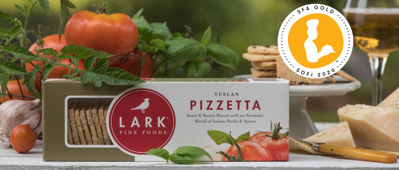 Specialty Food Producer, Lark Fine Foods, Wins 2020 Gold and Silver sofi<sup>TM</sup> Awards in Two Categories