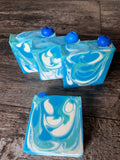 Blueberries and Cream Goat Milk Artisan Hand Crafted Bar Soap