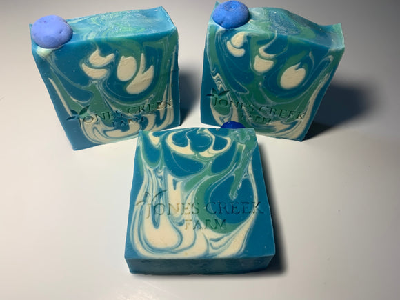 Blueberries & Cream Goat Milk Soap