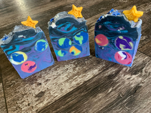 Galaxy Artisan Hand Crafted Bar Soap