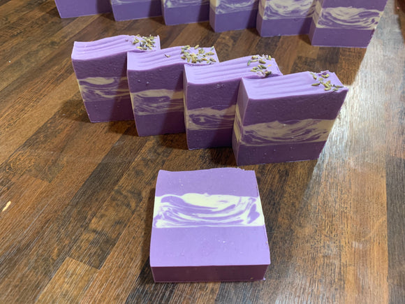 Lavender Artisan Hand Crafted Bar Soap