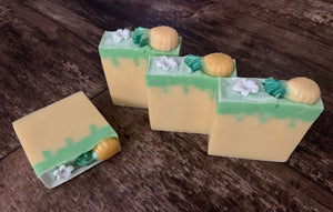 Pineapple Jasmine Artisan Hand Crafted Bar Soap