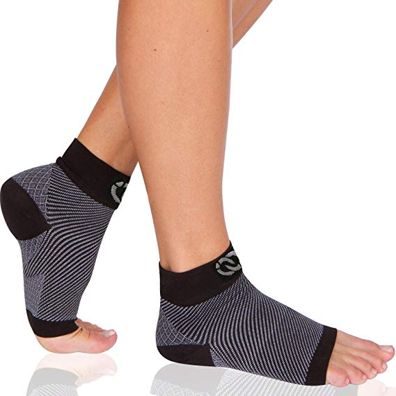 Foot Sleeves - Plantar Fasciitis Socks by CompressionGear - CompressionGear
