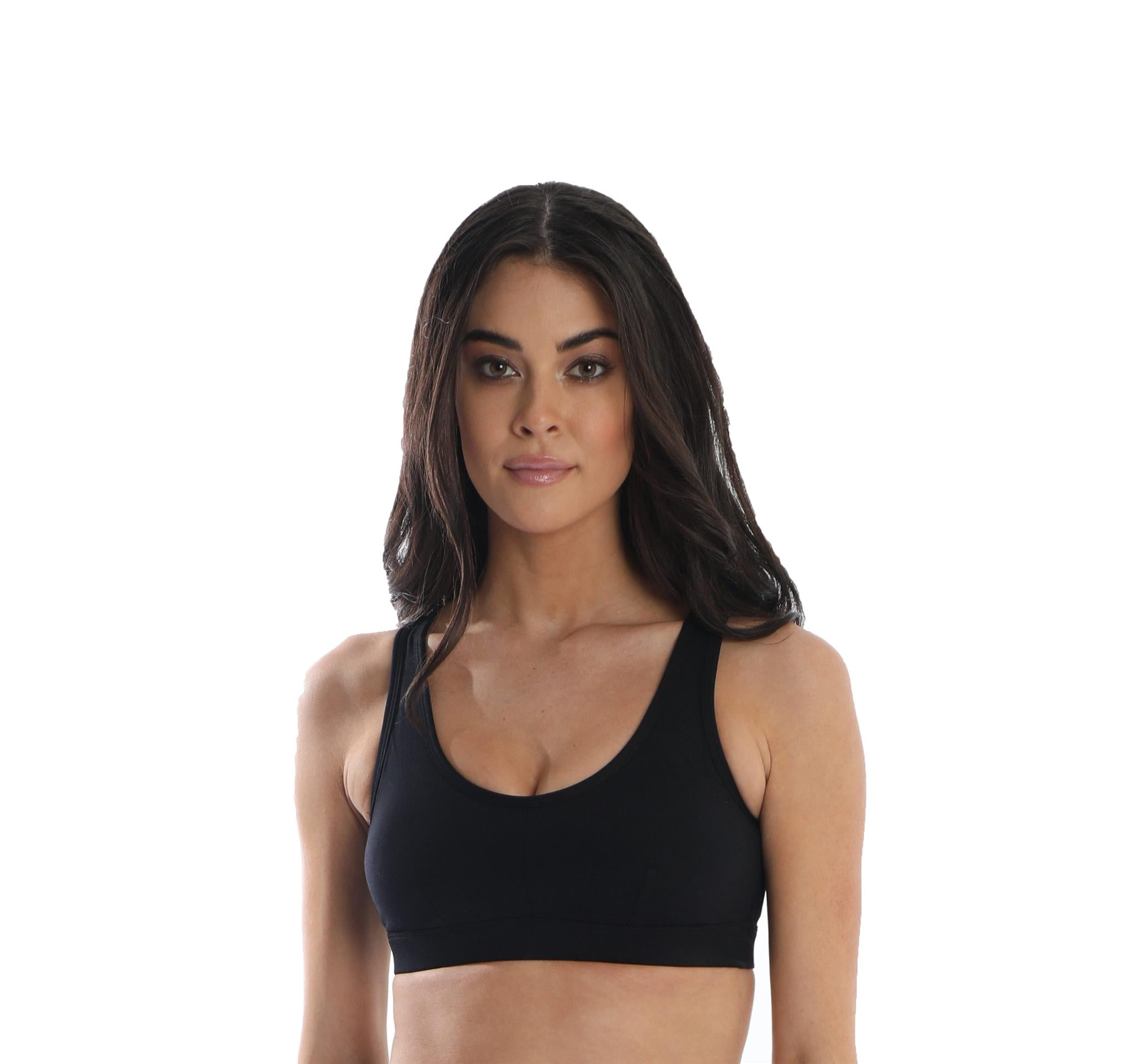 Trendsetter Women's Sports Bra - Black