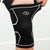 CompressionGear Knee Sleeve - Men's (Black w/White Lines)