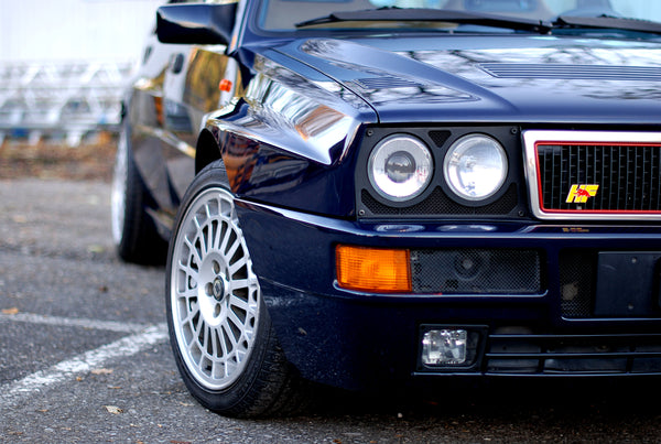 Lancia Delta HF integrale Blu Lord - for sale including Alcantara Leather retrim