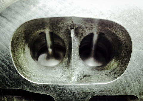CNC machined Cylinder Head for Lancia Delta HF integrale. Blueprinted and ported flowbench tested for maximum Volumetric Efficiency. Without the optional Golfball Structure intake port dimpling.