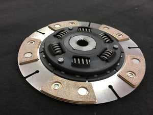 Lancia Delta HF reinforced sintered clutch for HD applications